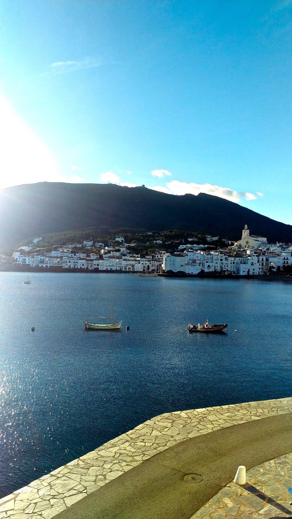 Bay view of Cadaqués