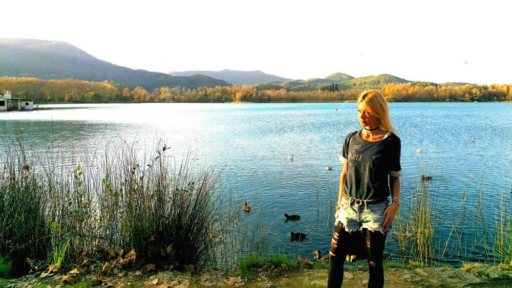 Lake Banyoles...