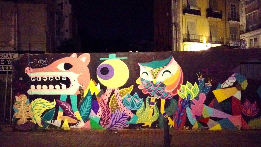 Streetart in Valencia...