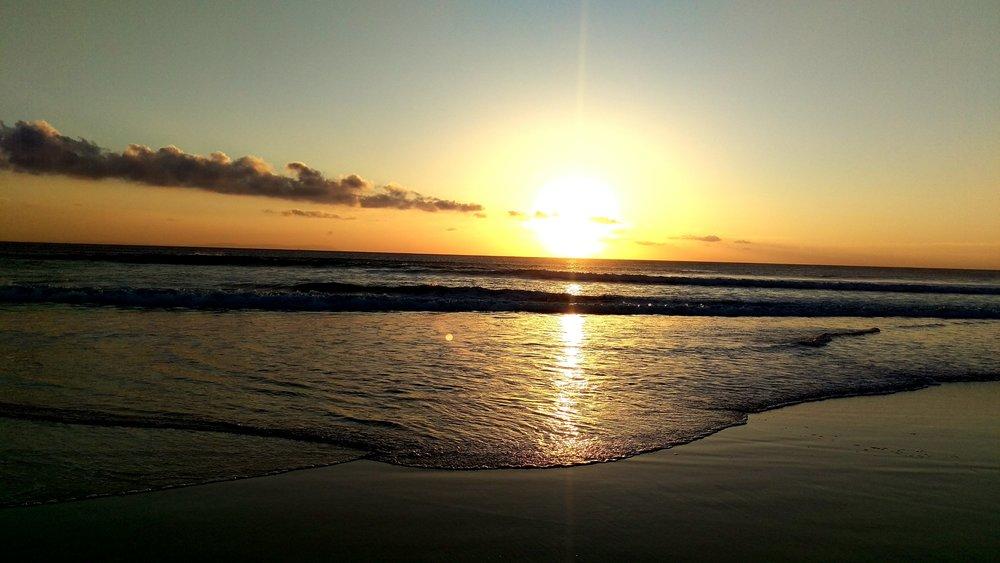 Sunset at Playa de Los Lances - Tarifa