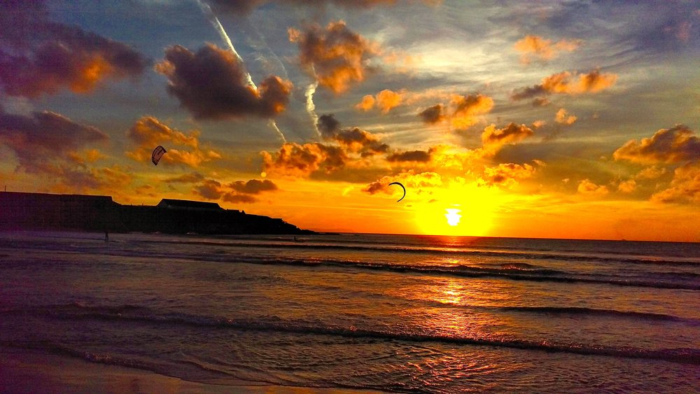 Sunset at Tarifa Beach...
