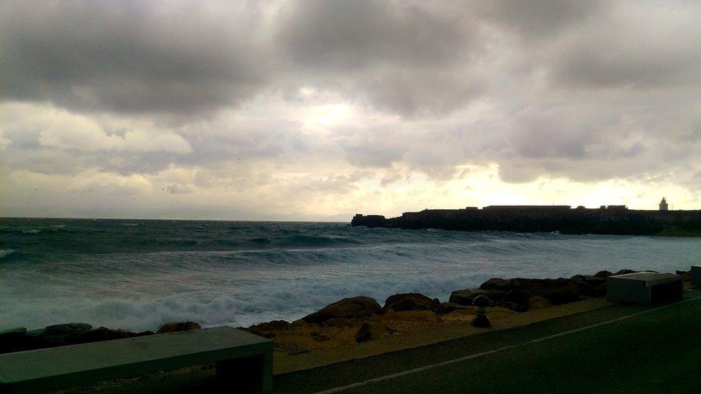 Stormy day in Tarifa