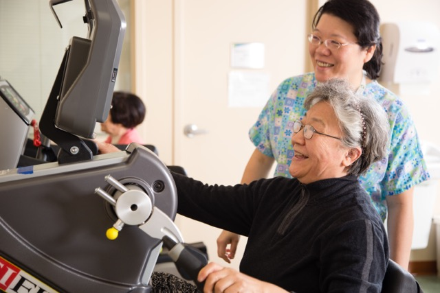 CenterLight PACE sites are furnished with the latest physical and occupational rehabilitation equipment. Our dedicated and compassionate staff will work with you to help you gain maximum functioning.