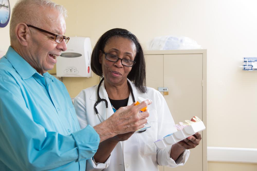 Ensuring they take their medications