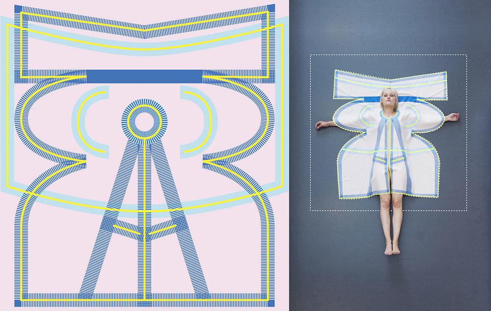 Vera de Pont - Pop.Up 'Transforming Textiles' | Van lap stof naar een jas - Foto's door: Vera de Pont