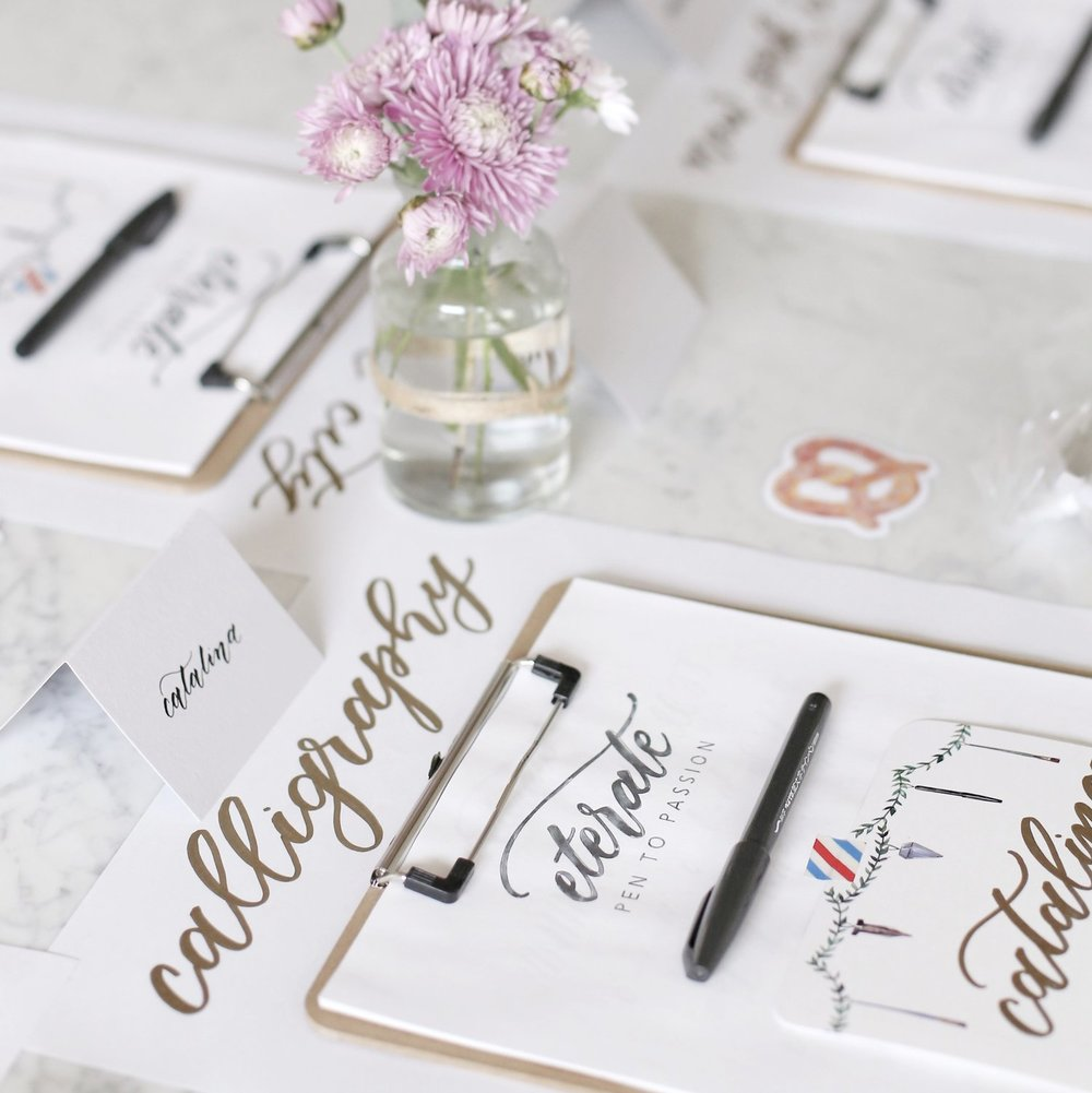 Brush Pen Modern Calligraphy Workshop   June 17th 2018 (Sunday) 5.30PM - 8PM GreaterGoods #8, 606 Meredith Road NE Calgary, AB  T2E 5A8 Canada