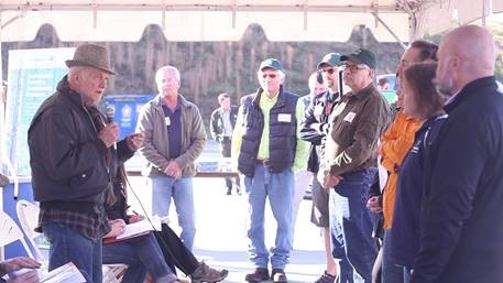 Landowner event in Morganton, NC