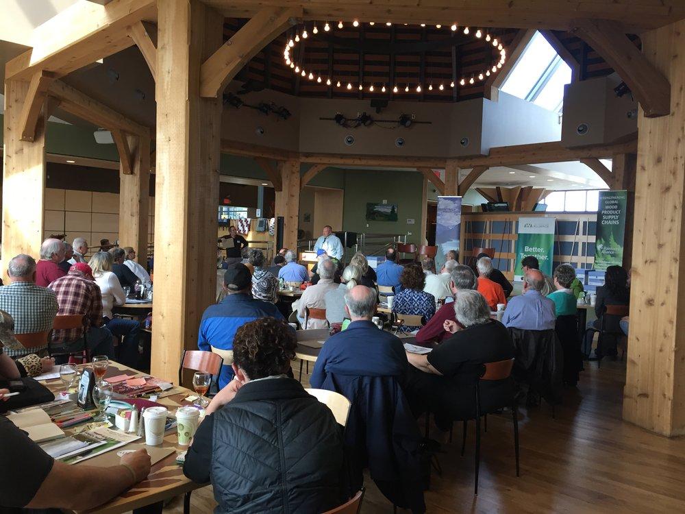 Landowner event at the heartwood center, Abingdon, VA