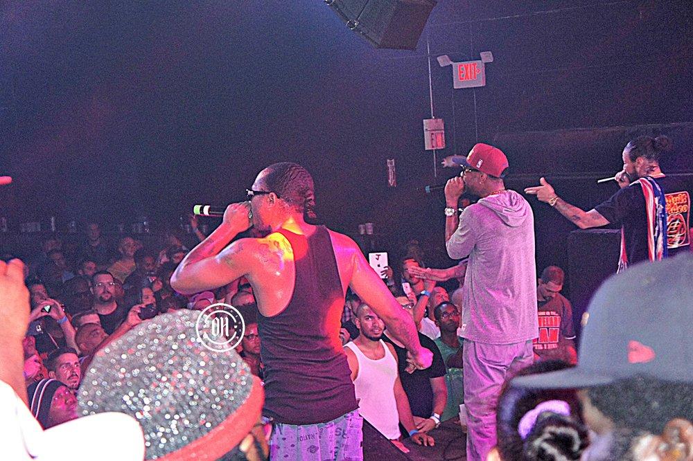 Flesh, Krayzie, Bizzy performing.jpg