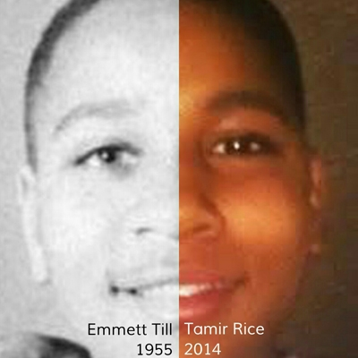Emmett Till and Tamir Rice