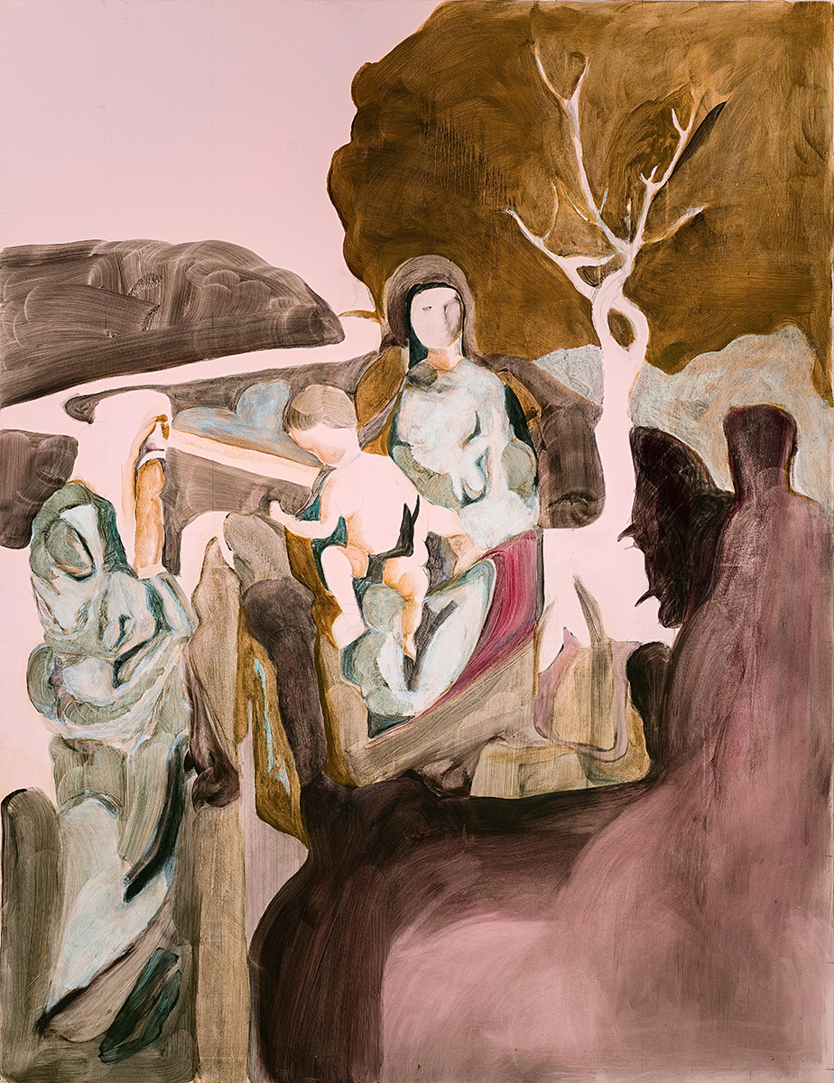 'The Apparition' 152 x 117 cm