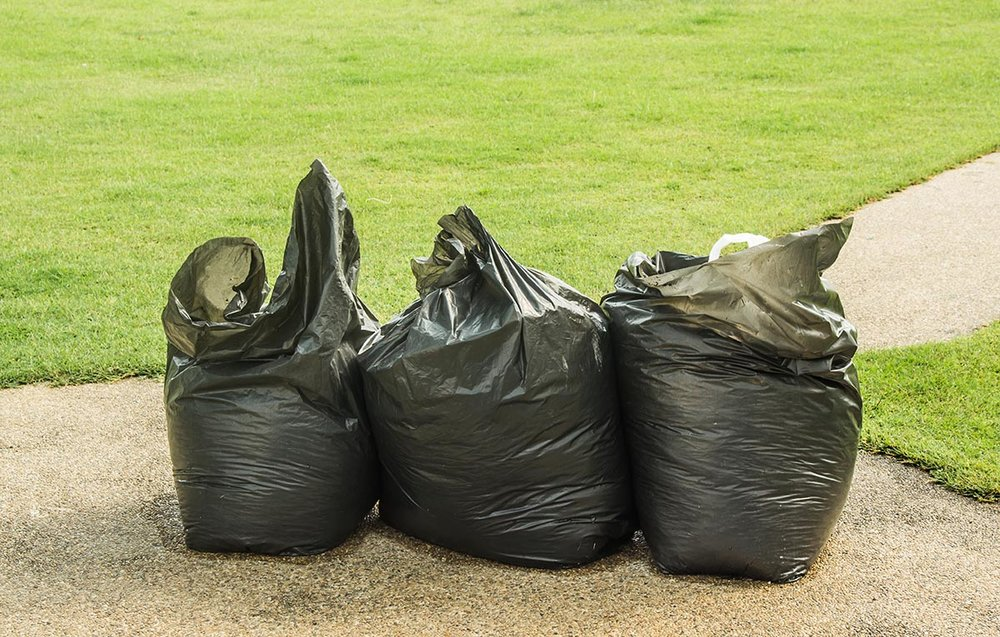Litter Control: All litter that has blown in or lies on the property will be picked up as needed (generally weekly).