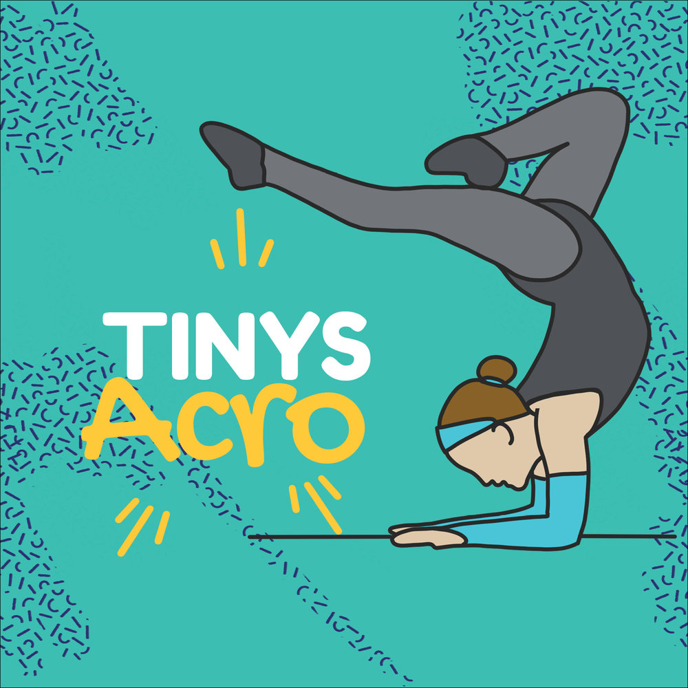Tiny Acro - June 10th - June 28thTuesdays 9:45 to 10:30amJuly 8th - July 26Tuesdays 9:45 to 10:30amAn introduction to Acro limbering, balancing, tumbling, strength and flexibility.Price $41