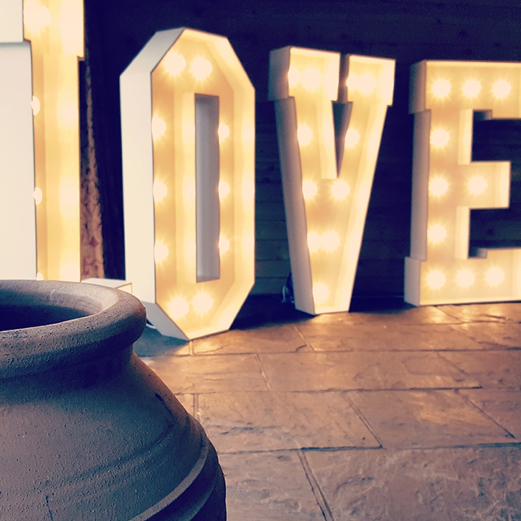 love by Vivid Letters