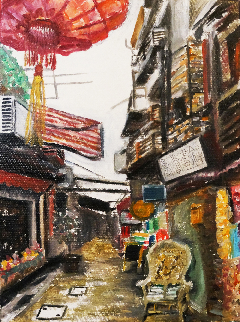 Alley in Shanghai
