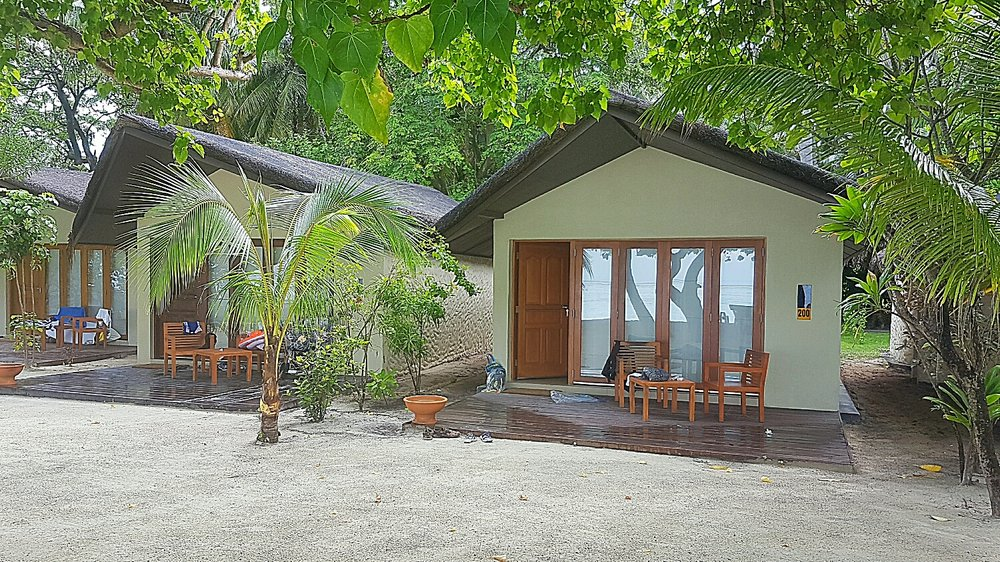 This is our beach villa No. 200