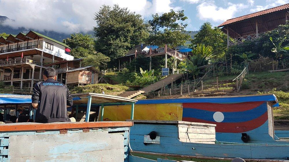 Leaving Muang Ngoi
