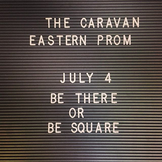 . . . . . . #thecaravanmaine #easternprom #july4th #airstream #airstyle #livemaine #eatmaine #lovemaine #eatlocal #eatlobster