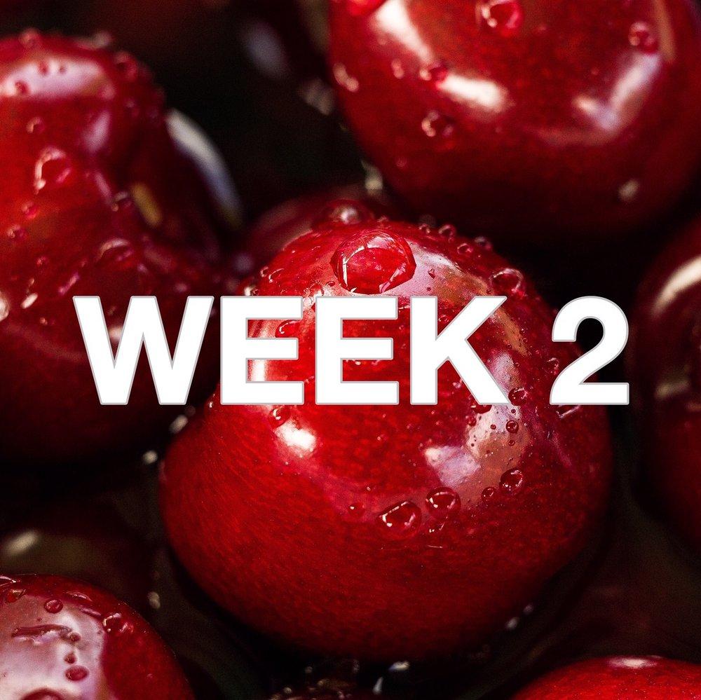 Beautiful Badass Method - Week 2 Menu - Photo by Roksolana Zasiadkovia via Unsplash.com