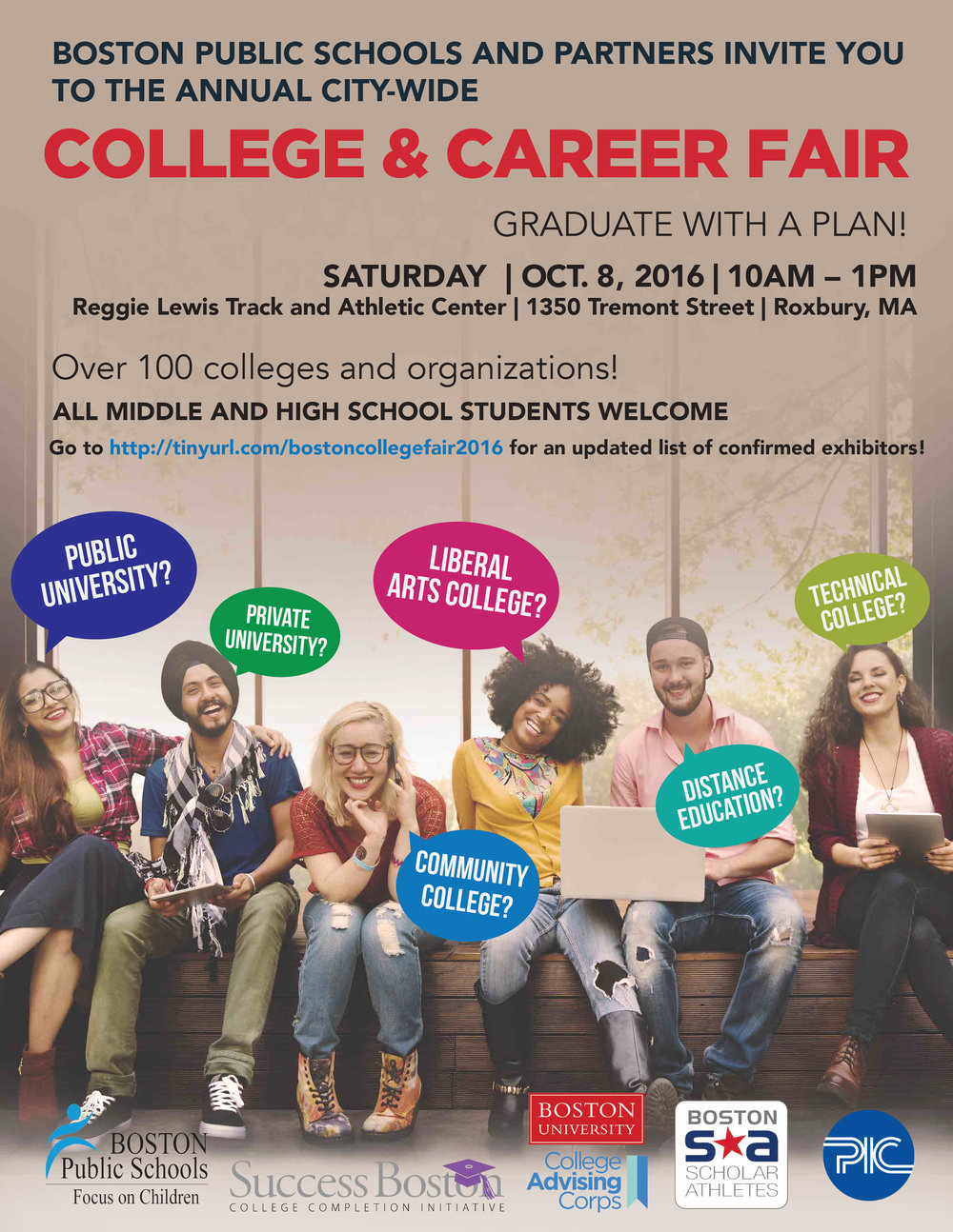 Boston Public Schools - College & Career Fair 2016