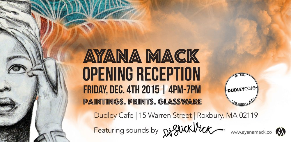 Ayana Mack - Art Exhibition 2015