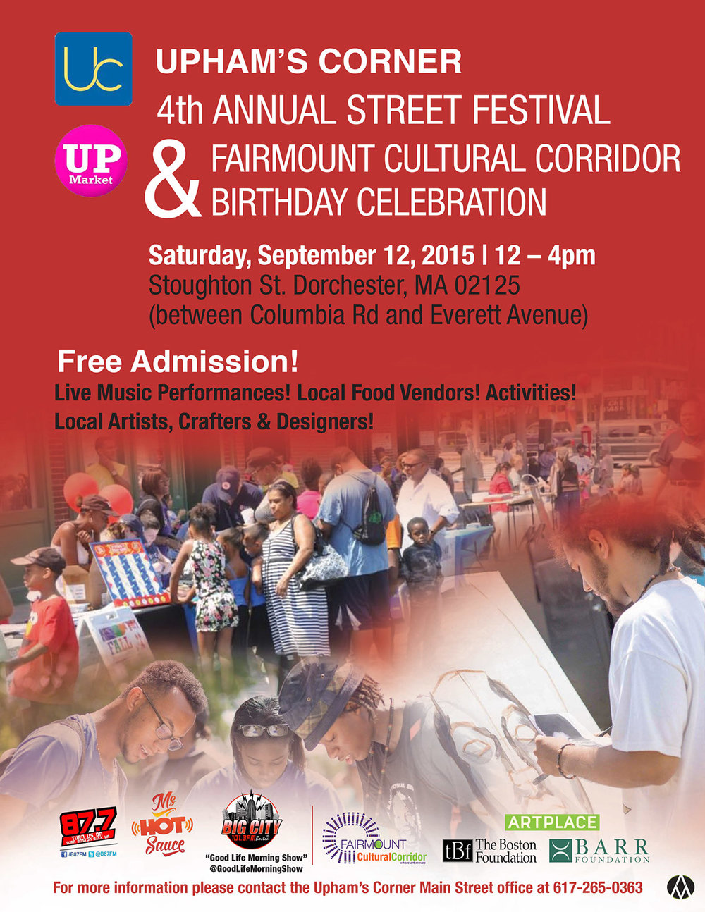 Dudley Street Neighborhood Initiative Festival - 2015