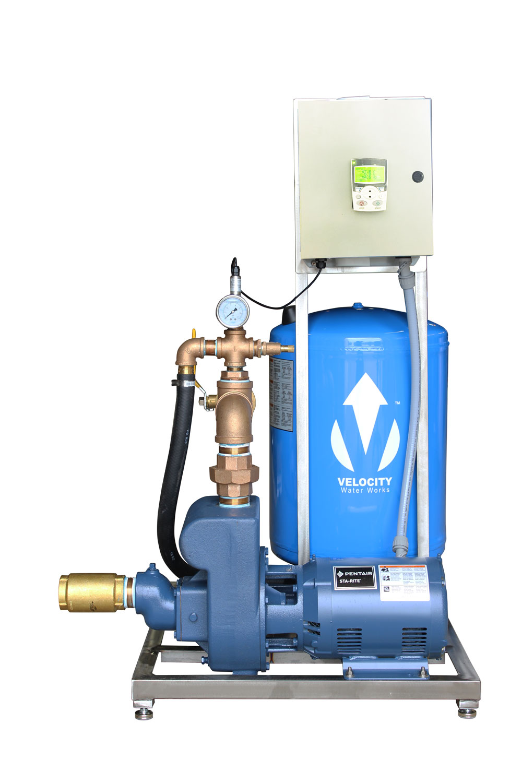Velocity VVF-5, 140gpm VFD Booster Pump System