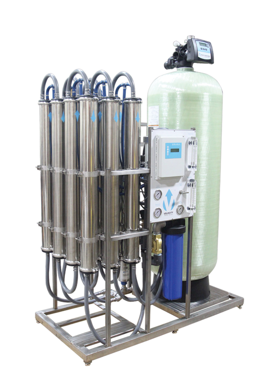 Velocity (VROF-12) 12 Membrane (28,000gpd) Reverse Osmosis System