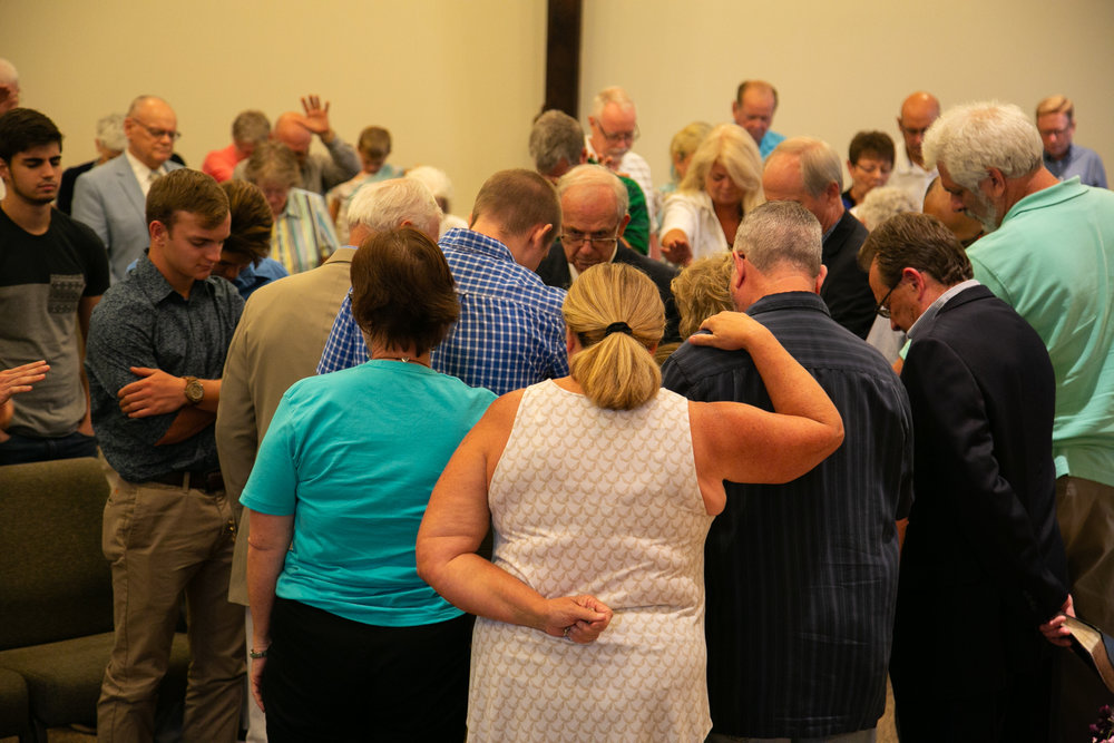 Surrounded in Prayer
