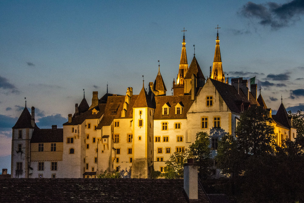 The Castle at Night