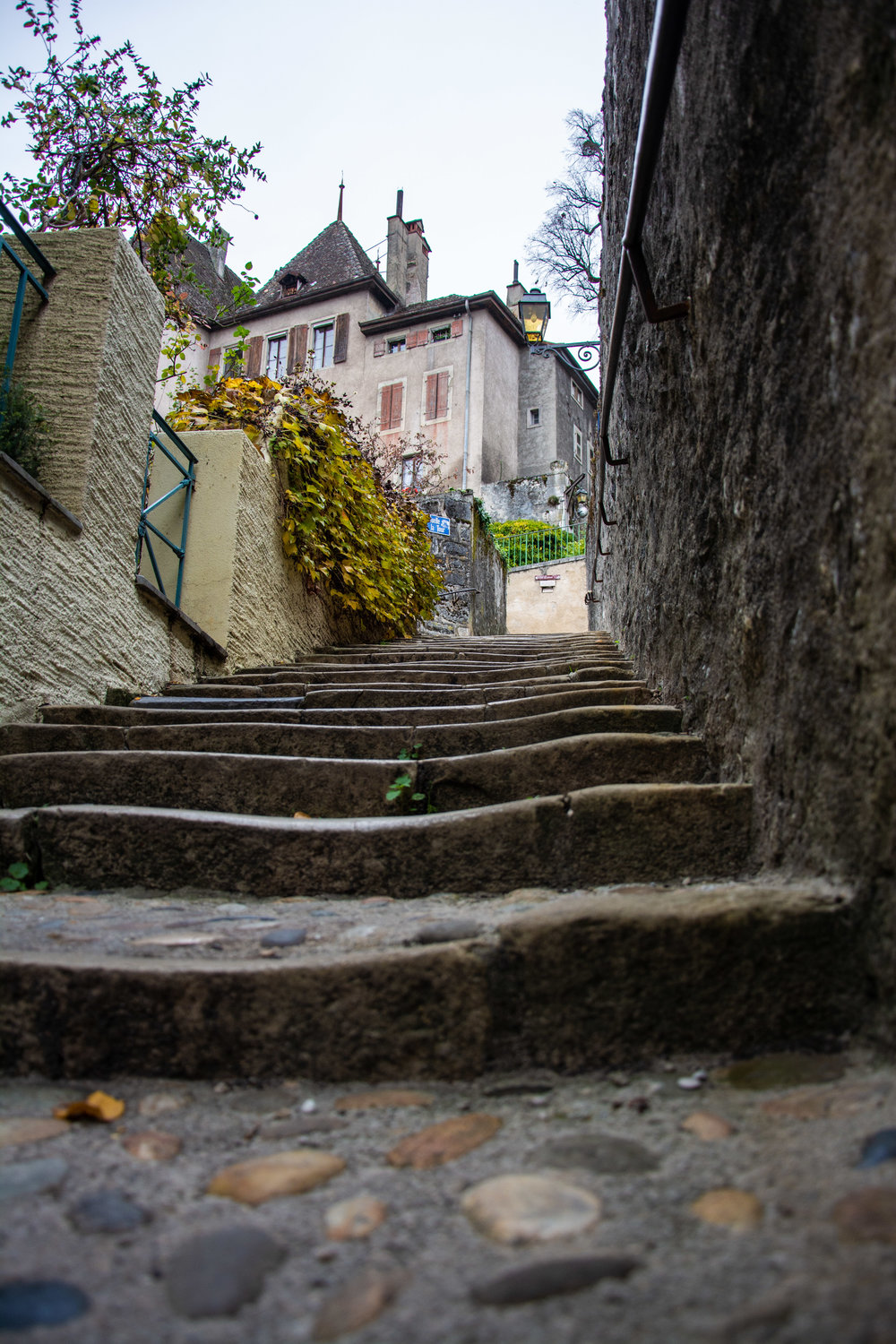 Steps to the Castle