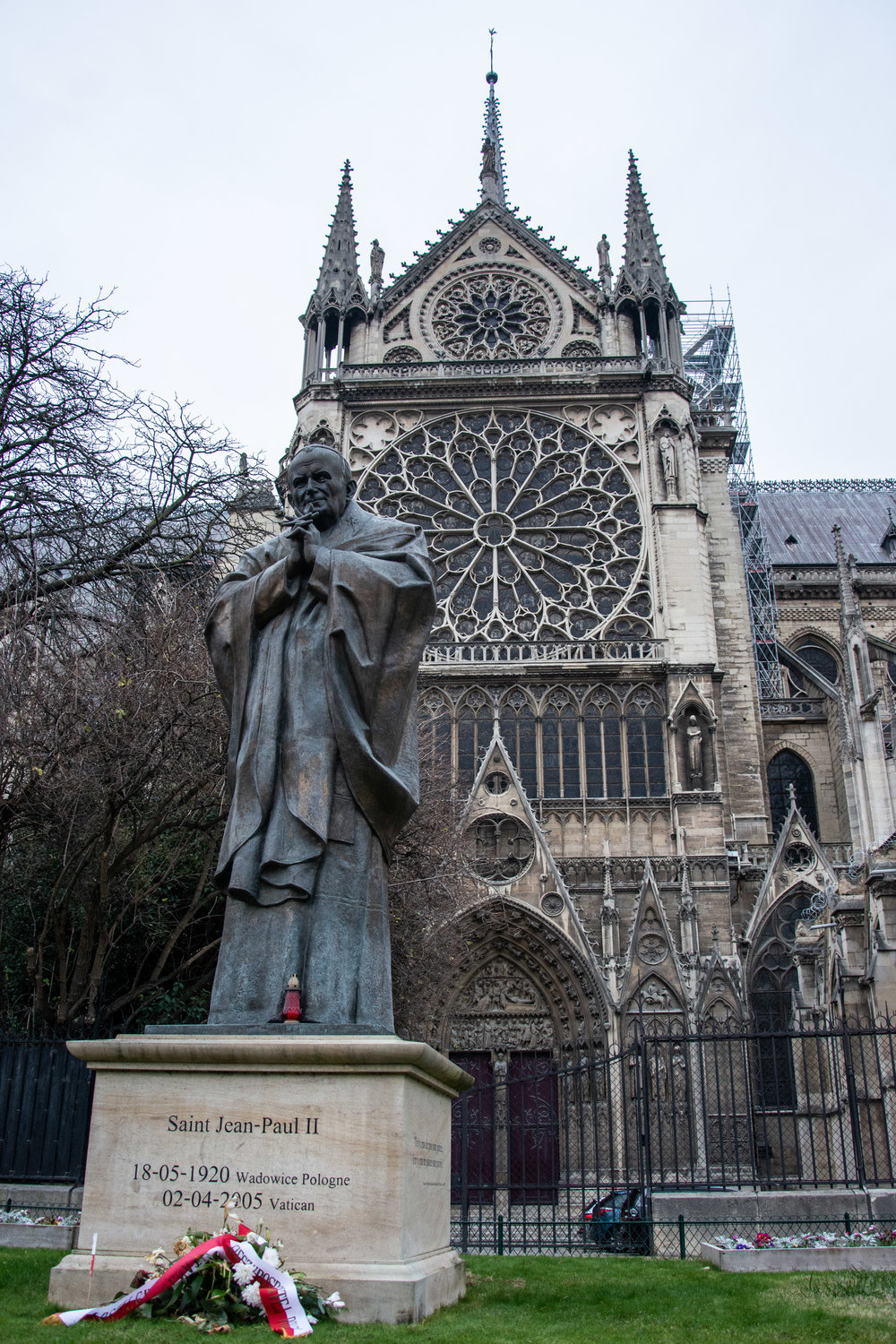 Notre Dame and the Pope