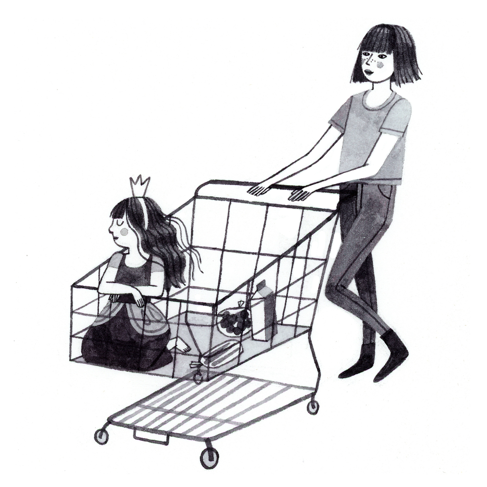 Shopping Cart Princess
