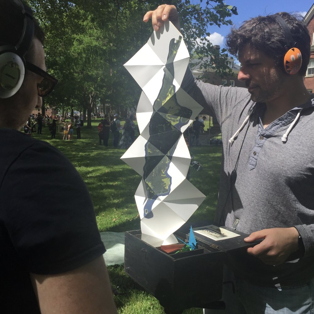 Performances include: 2017 Figment NYC on Governors Island