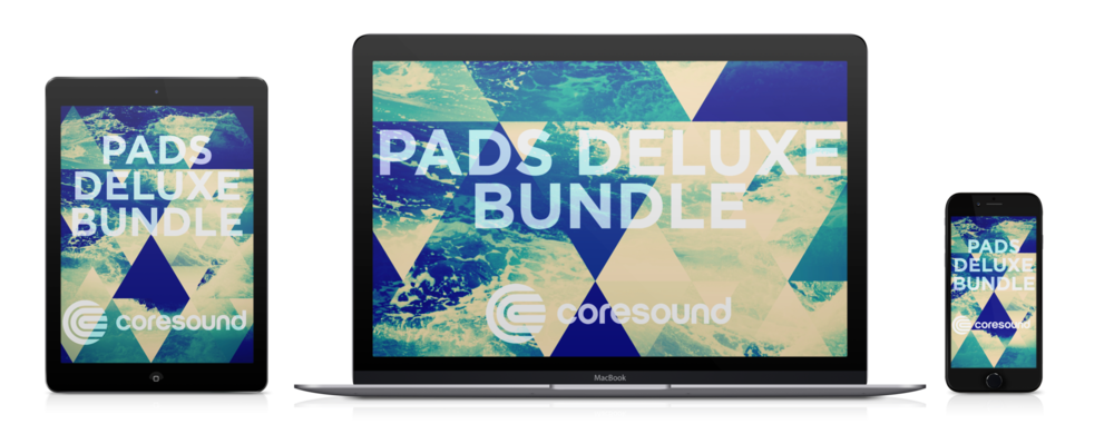 coresound worship pads deluxe bundle laptop tablet phone device ambient mp3 pads pad loops