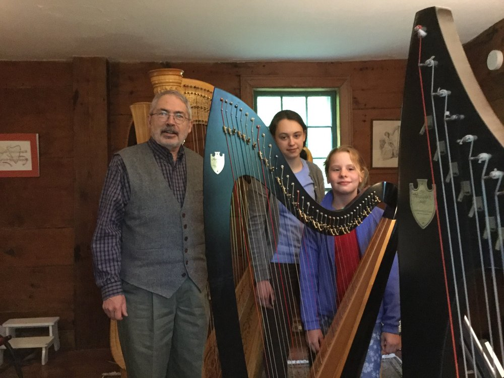 Harp students will play as the Head Tide Harp Ensemble during the Sept. 27, 2018 Wiscasset Art Walk.