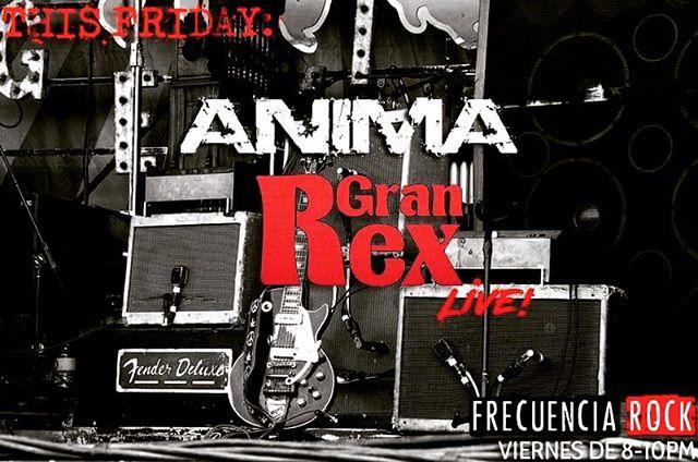 TONIGHT 8PM (PT) #Ánima at @frecuenciarock www.proyectolatinoradio.com #BayAreaRock #Animasfo #RockenEspañol