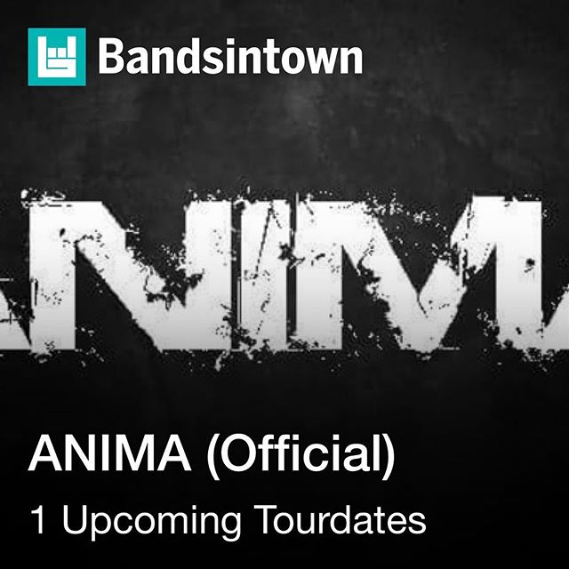 Track our show here @bandsintown #Anima #Tour #Concert #News #RockenEspañol #SanFrancisco #LatinRock #Rock #Alternativo #Musica #Music #Animasfo #California