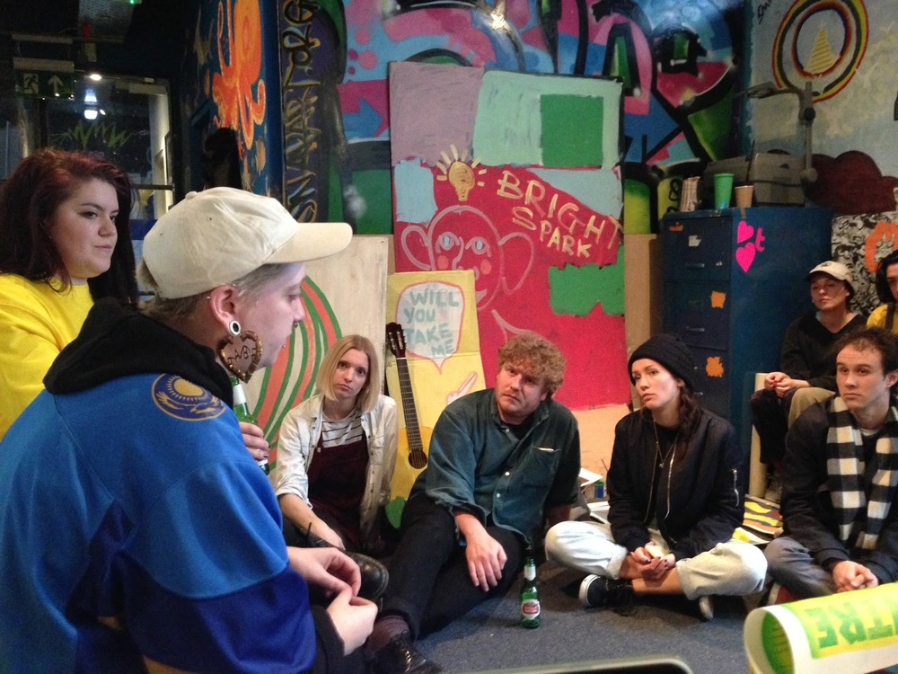Performance and Q&A by Liv Wynter