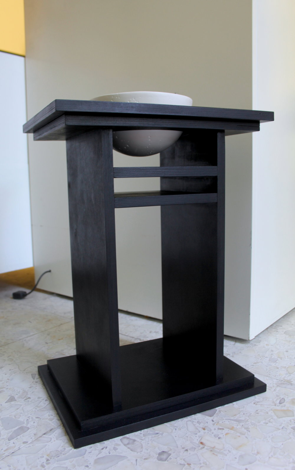 Half Moon Nightstand (Private Commission)