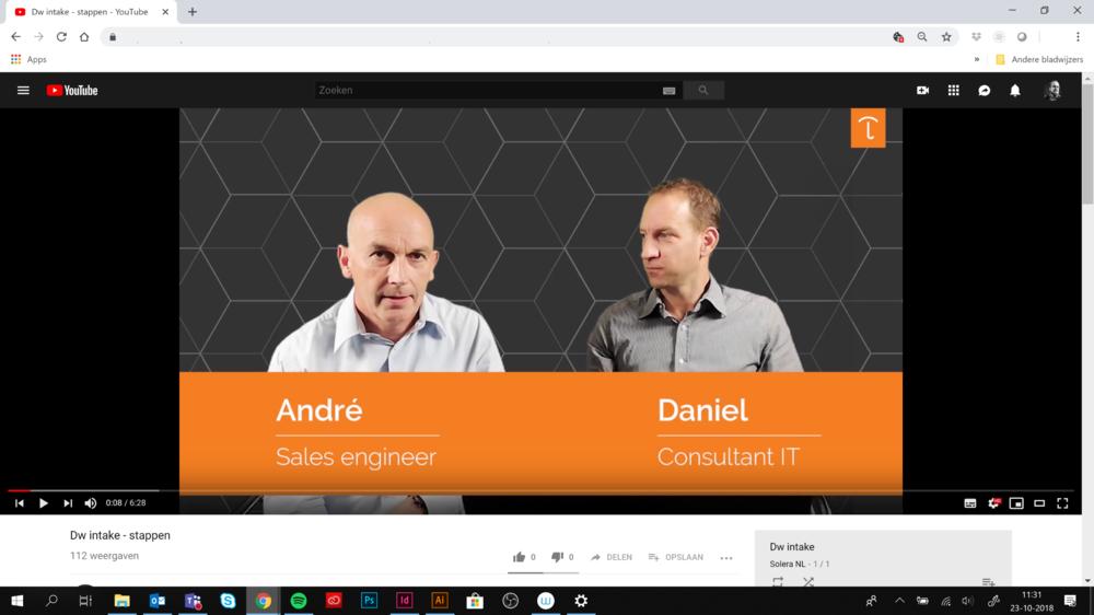Op  youtube  vindt u onder Solera NL uitleg over onze diensten