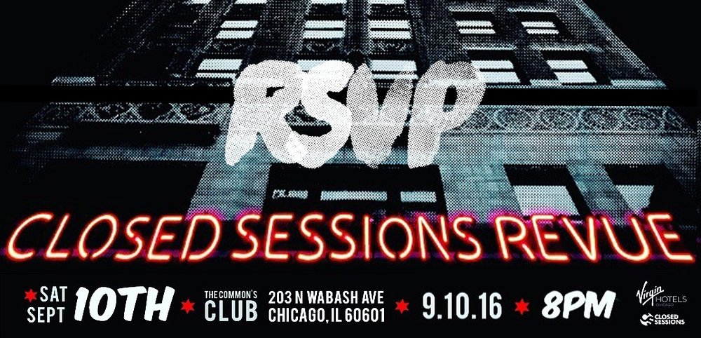 (DOORS OPEN: 8PM CST) |**early arrival strongly suggested.