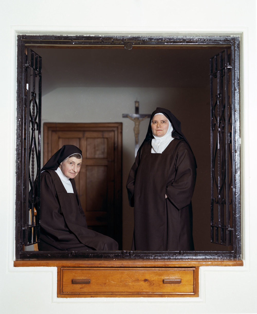 Sister Theresa and friend