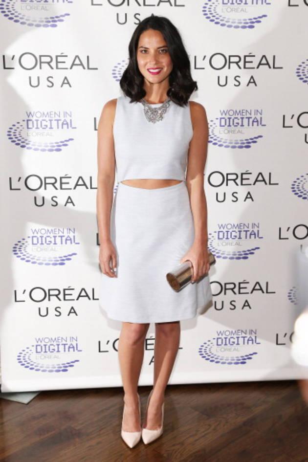 Olivia Munn in Thakoon Addition