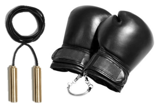 Alexander Wang Skip Rope and Boxing Gloves