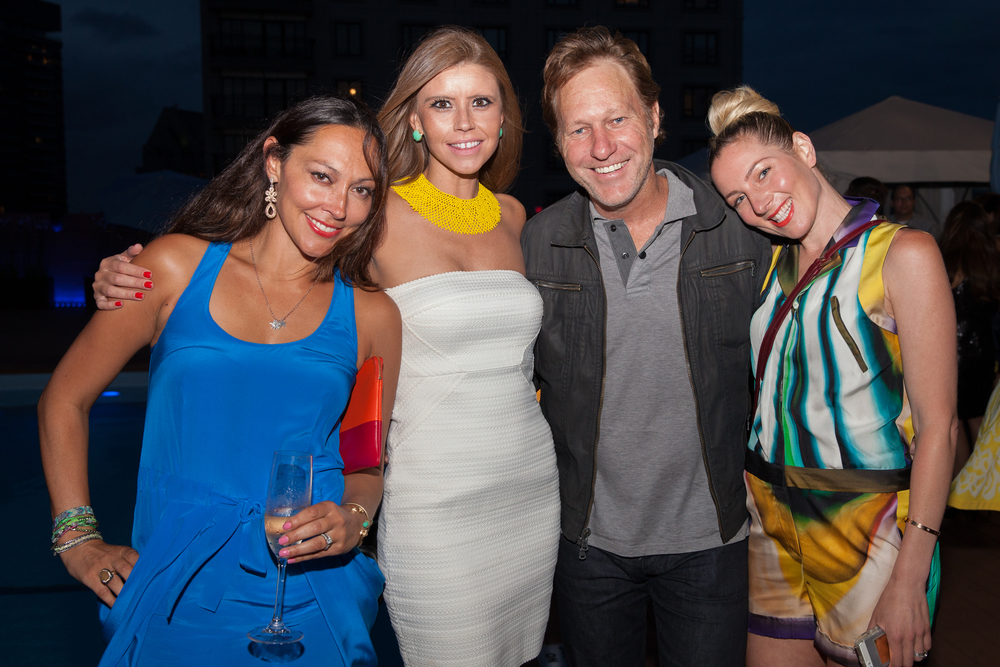 Jessica, Abby Cushman, Restauranteur and nightlife King, Ed Kane & me