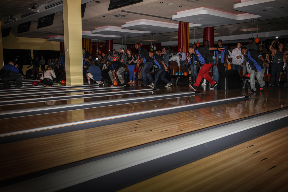 Let the bowling begin!
