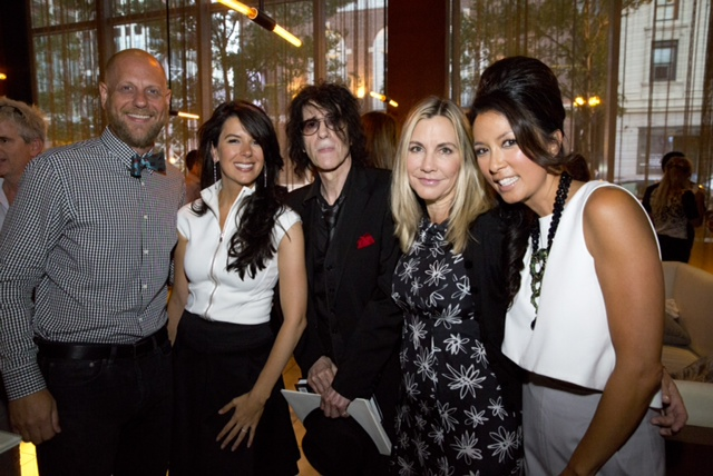 Linda Pizzuti Henry, Peter Wolf, Corinne Grousbeck and Tonya