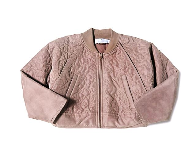 Adidas by Stella McCartney Yoga quilted bomber jacket