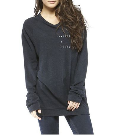 Passion is Everything pullover by GoodhYouman, $68